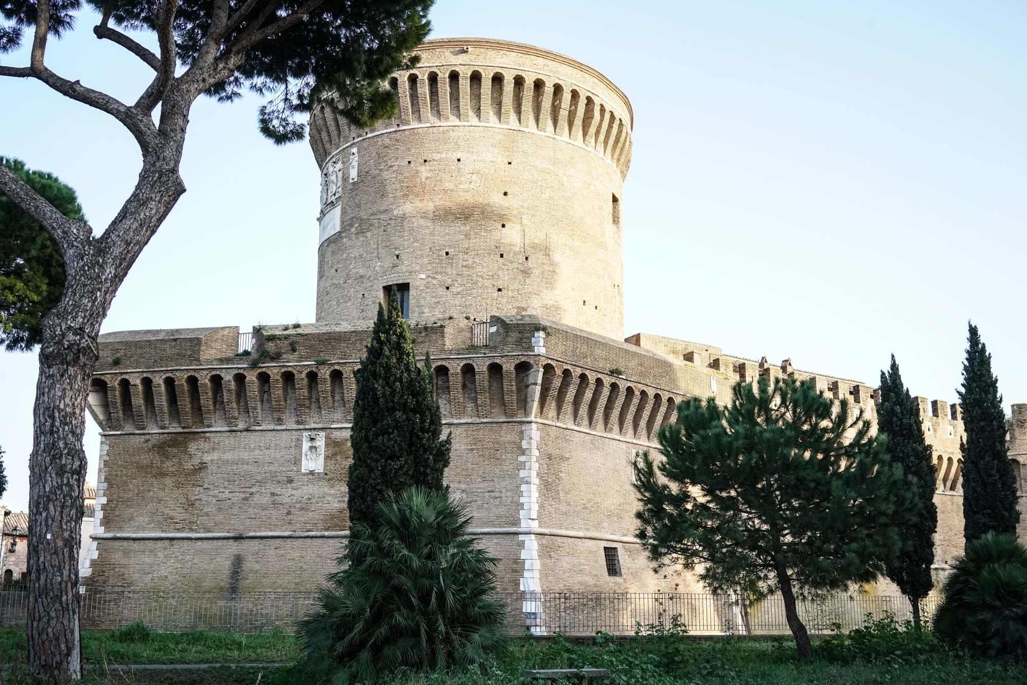 Novita 39 il castello di giulio ii a ostia antica e il for Programma arredamenti ostia